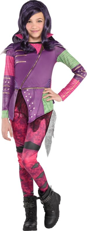 Girls Mal Costume - Disney Descendants