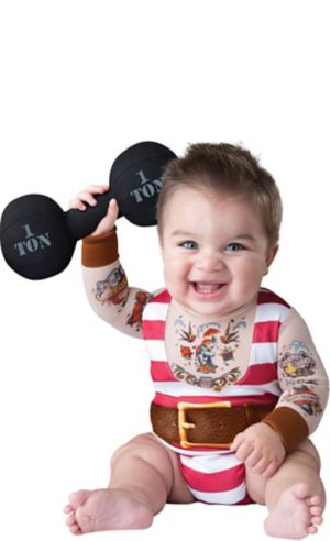 Baby Silly Strongman Costume