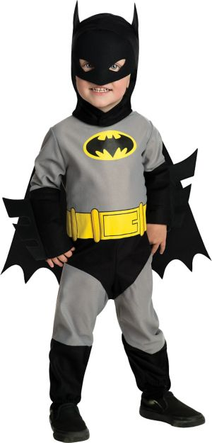Toddler Boys Batman Costume - Classic Batman