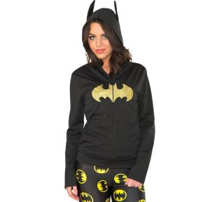 Batgirl Zip-Up Hoodie - Batman
