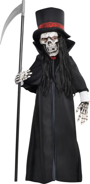 Little Boys Dapper Death Reaper Costume