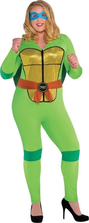 Adult Sexy Teenage Mutant Ninja Turtles Costume Plus Size