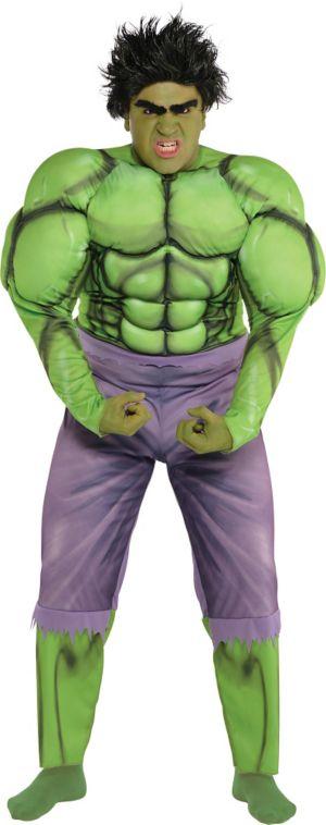 Adult Hulk Muscle Costume Plus Size