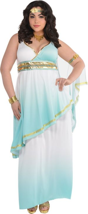 Adult Grecian Goddess Costume Plus Size