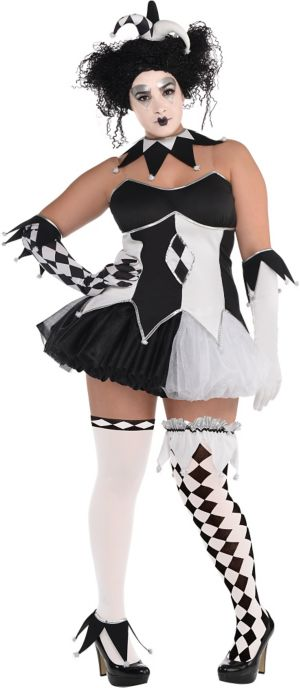 Adult Tricksterina Costume Plus Size