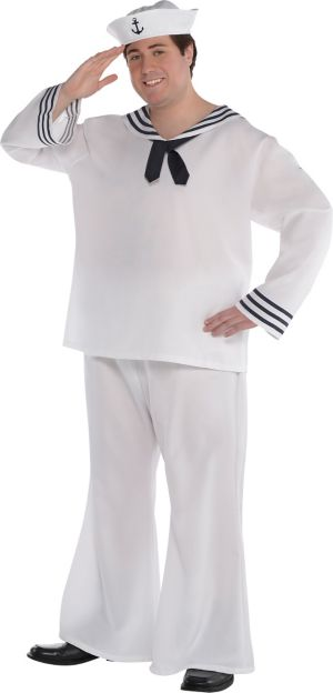 Adult Sailor Man Costume Plus Size