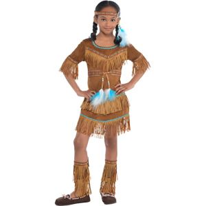 Toddler Girls Dream Catcher Cutie Native American Costume