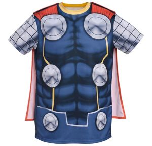 Child Thor T-Shirt with Cape