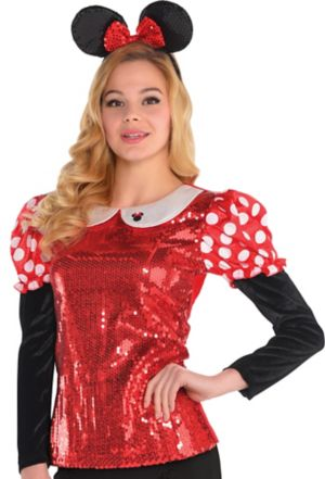 Sequin Minnie Mouse Shirt