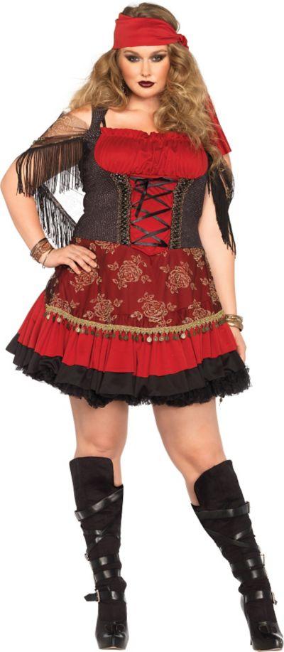df426ae3b6 Adult Mystic Vixen Gypsy Costume Plus Size