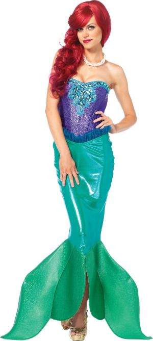 Adult Deep Sea Siren Mermaid Costume