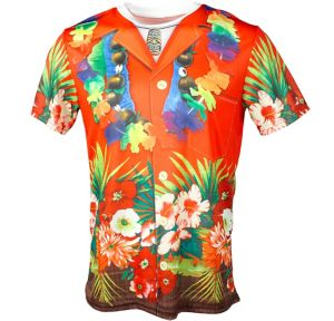 Red Hawaiian T-Shirt