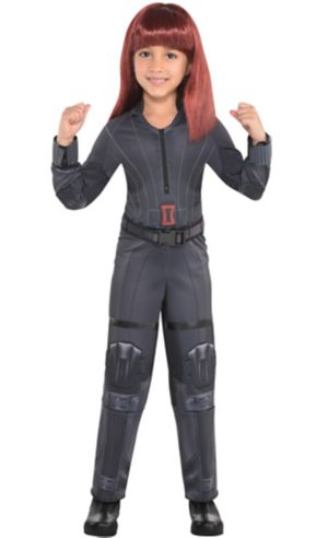 Little Girls Black Widow Costume - Captain America: Civil War