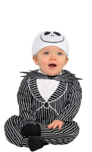 Baby Jack Skellington Costume - The Nightmare Before Christmas