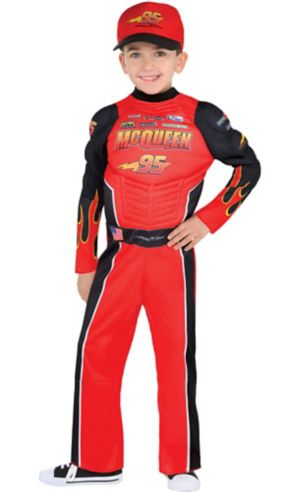 Toddler Boys Lightning McQueen Costume - Cars