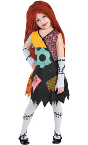 Little Girls Sally Costume - The Nightmare Before Christmas