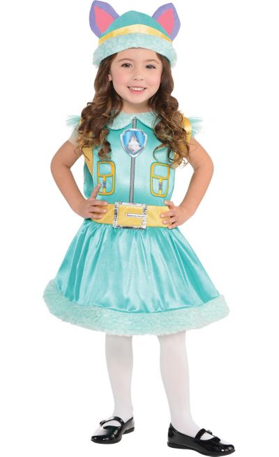toddler girls everest costume paw patrol party city