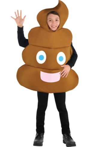 Boys Poop Icon Costume