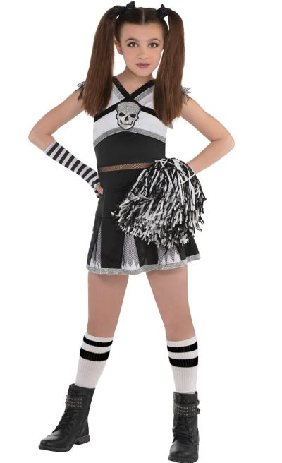 d33f6132a Girls Ra Ra Rebel Cheerleader Costume | Party City