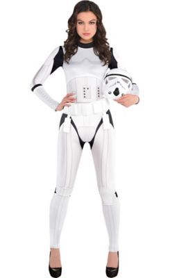 sc 1 st  Party City & Womenu0027s Stormtrooper Costume | Party City