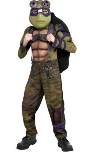 Boys Donatello Muscle Costume - Teenage Mutant Ninja Turtles 2