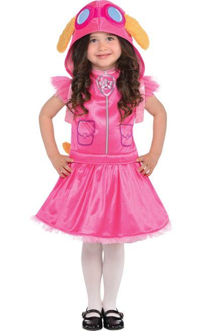 girls skye costume paw patrol party city