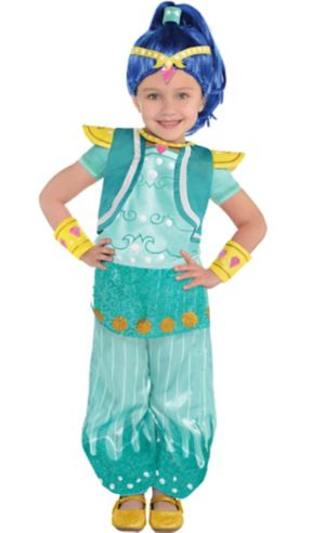 Toddler Girls Shine Costume - Shimmer and Shine