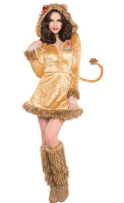 sc 1 st  Party City & Adult Cowardly Lion Costume - The Wizard of Oz | Party City
