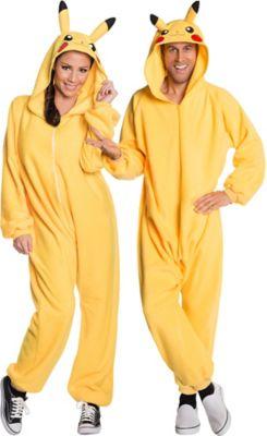 pikachu costume womens pokemon pikachu mens pajamas size large