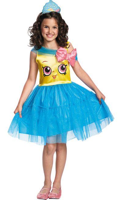 0bfc1fc6170a Girls Cupcake Queen Costume - Shopkins