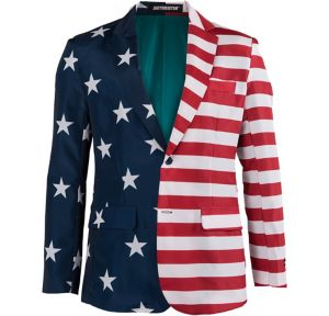 Stars & Stripes USA Suit Jacket