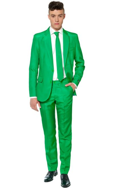 Adult Green Suit Party City