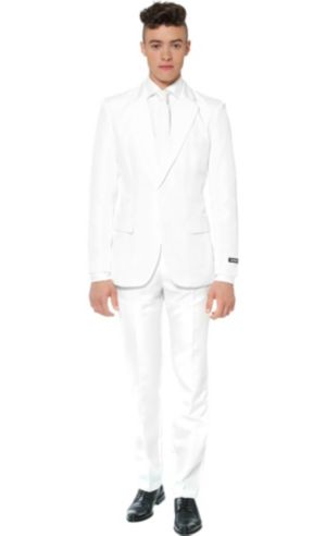 Adult White Suit