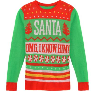Buddy The Elf Ugly Christmas Sweater Party City Canada