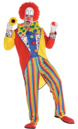 Adult Clown Costume Deluxe