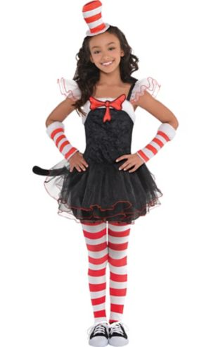 Girls Cat in the Hat Tutu Costume - Dr. Seuss