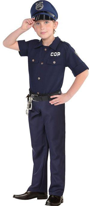 Boys Cop Costume