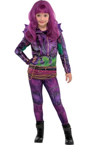 Little Girls Mal Costume - Disney Descendants 2