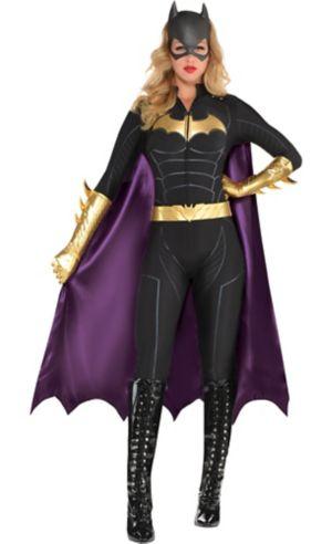 Adult Batgirl Jumpsuit Costume - Batman