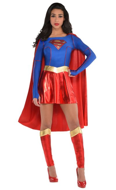 adult supergirl costume superman party city