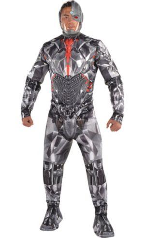Adult Cyborg Muscle Costume Premier - Justice League Part 1