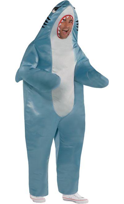 Adult Shark Costume Plus Size Party City