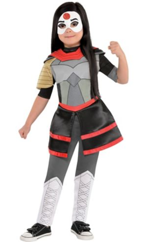 Little Girls Katana Costume - DC Super Hero Girls