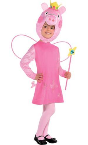 Toddler Girls Peppa Pig Costume