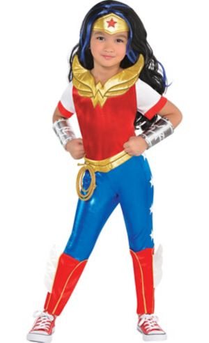 Little Girls Wonder Woman Dress Costume - DC Super Hero Girls