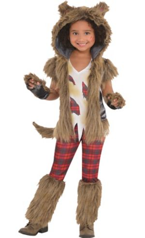 Little Girls Full Moon Werewolf Costume Party City