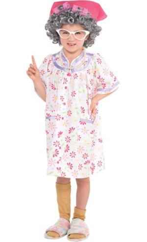 Little Girls Little Old Lady Costume