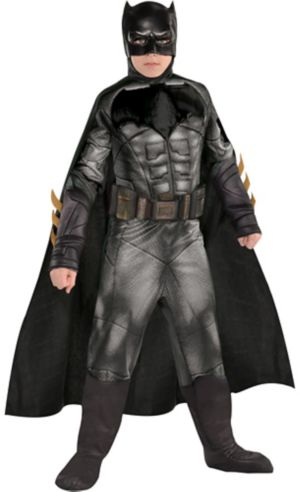 Boys Batman Muscle Costume - Justice League