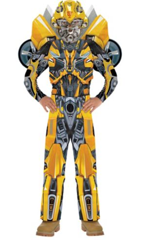 Boys Bumblebee Muscle Costume - Transformers 5: The Last Knight