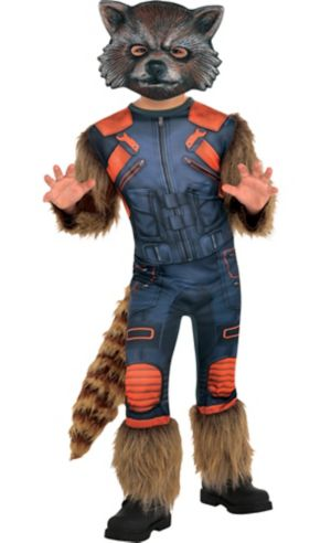 Little Boys Rocket Raccoon Costume - Guardians of the Galaxy 2